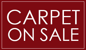 Carpet on sale starting at $3.50 sq.ft. installed with 30 yd purchase.