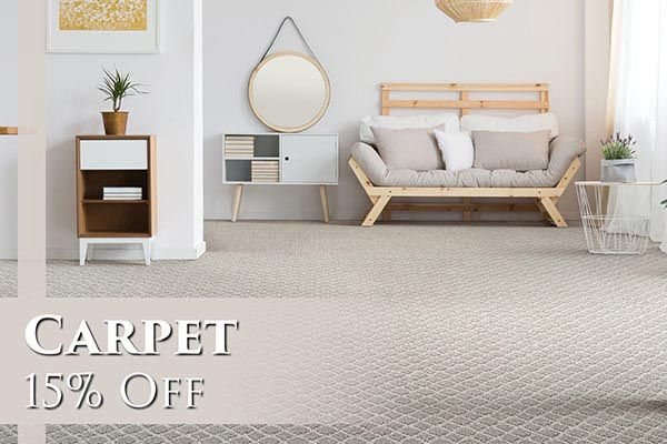Carpet 15% OFF - Come visit us today at Abbey Carpet & Floor of San Mateo