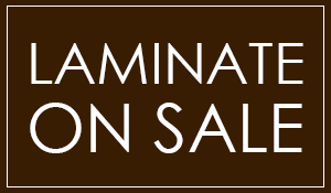 Laminate on sale starting at $1.70 sq.ft.